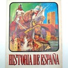Coleccionismo Álbum: ALBUM 1974 HISTORIA DE ESPANA. COMPLETO. POSTER ESCUDOS COMPLETO. RUIZ ROMERO. BUEN ESTADO VER FOTOS. Lote 138615066