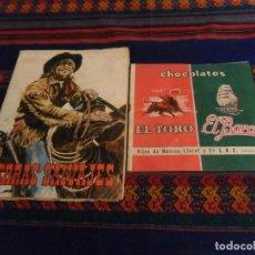 Coleccionismo Álbum: LOTE 2 ÁLBUM COMPLETO CHOCOLATES EL TORO Y EL BARCO TIERRAS SALVAJES, UN MUNDO MARAVILLOSO MUY RAROS. Lote 105177303