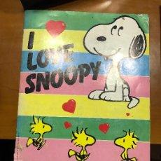 Coleccionismo Álbum: I LOVE SNOOPY IMPECABLE COMPLETO. Lote 105031919