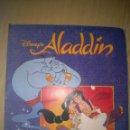 Coleccionismo Álbum: ALBUM DE CROMOS ALADIN TOTALMENTE COMPLETO INCLUYENDO TRANSPARENCIAS PANINI DISNEY. Lote 105337855