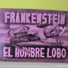 Coleccionismo Álbum: ALBUM DE CROMOS FRANKENSTEIN Y EL HOMBRE LOBO ,( 1PTS AÑOS 40-50), MUY DIFICIL!!!. Lote 105659599