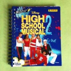 Coleccionismo Álbum: HIGH SCHOOL MUSICAL 2 PHOTOCARDS ALBUM COMPLETO DISNEY PANINI HSM. Lote 249250265