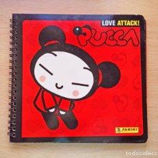 Coleccionismo Álbum: ALBUM COMPLETO PUCCA LOVE ATTACK CROMOS SITCKERS PANINI 2007. Lote 102206487