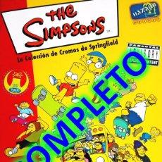Coleccionismo Álbum: ALBUM CROMOS COMPLETO SIMPSONS SPRINGFIELD 1 SIMPSON. Lote 43720916
