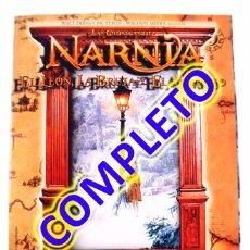 Coleccionismo Álbum: ALBUM CROMOS COMPLETO CRÓNICAS NARNIA LEON BRUJA ARMARIO PANINI 2006. Lote 73492467