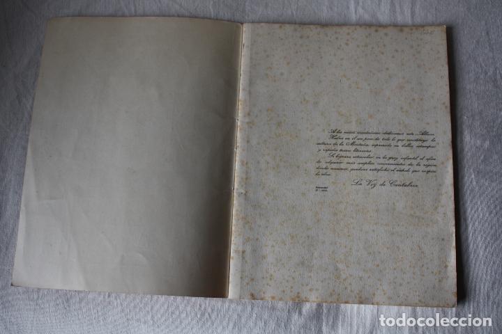 Coleccionismo Álbum: LA VOZ DE CANTABRIA. CULTURA MONTAÑESA. 1932-1933. COMPLETO. - Foto 2 - 105727799