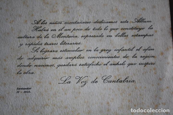 Coleccionismo Álbum: LA VOZ DE CANTABRIA. CULTURA MONTAÑESA. 1932-1933. COMPLETO. - Foto 3 - 105727799