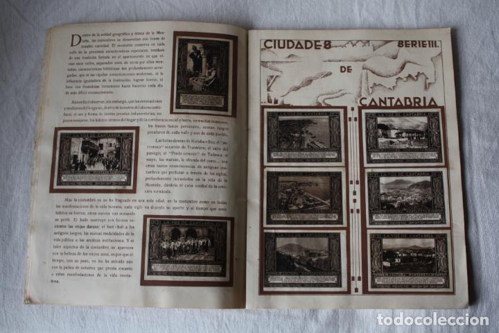 Coleccionismo Álbum: LA VOZ DE CANTABRIA. CULTURA MONTAÑESA. 1932-1933. COMPLETO. - Foto 7 - 105727799