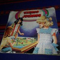 Coleccionismo Álbum: VIVIMOS Y JUGAMOS COMPLETO 256 CROMOS. MAGA 1981. DIFÍCIL.. Lote 104941027