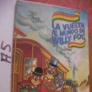 Coleccionismo Álbum: ANTIGUO ALBUM LA VUELTA AL MUNDO DE WILLY FOG - COMPLETO. Lote 106660487