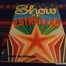 Coleccionismo Álbum: BUEN PRECIO. SHOW DE ESTRELLAS COMPLETO 216 CROMOS. MAGA 1982.. Lote 106715667