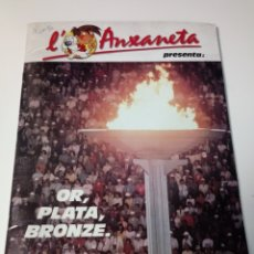 Coleccionismo Álbum: ALBUM DE CROMOS L'ANXENETA PRESENTA: OR PLATA BRONZE 1088. Lote 106985811