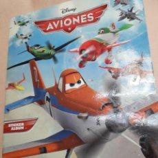 Coleccionismo Álbum: ÁLBUM CROMOS AVIONES DE PANINI AÑO 2013 COMPLETO. Lote 107316180
