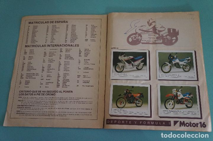 Coleccionismo Álbum: ALBUM DE MOTOS AÑO 1987 DE EDITORIAL UNIDAS,S.A - Foto 2 - 107493083
