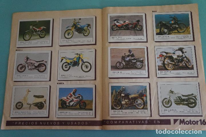 Coleccionismo Álbum: ALBUM DE MOTOS AÑO 1987 DE EDITORIAL UNIDAS,S.A - Foto 3 - 107493083