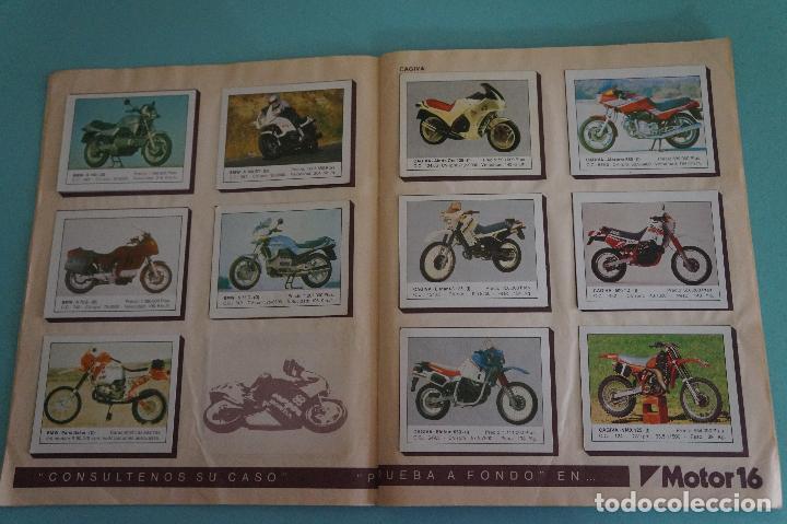 Coleccionismo Álbum: ALBUM DE MOTOS AÑO 1987 DE EDITORIAL UNIDAS,S.A - Foto 4 - 107493083