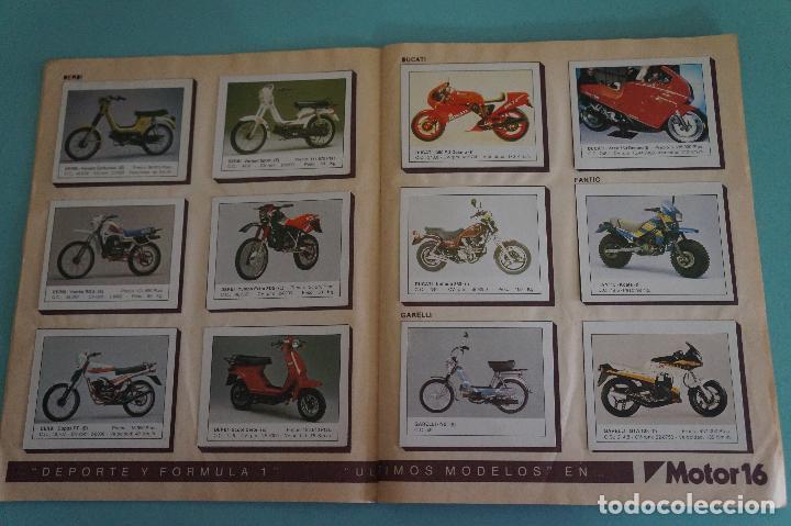 Coleccionismo Álbum: ALBUM DE MOTOS AÑO 1987 DE EDITORIAL UNIDAS,S.A - Foto 5 - 107493083