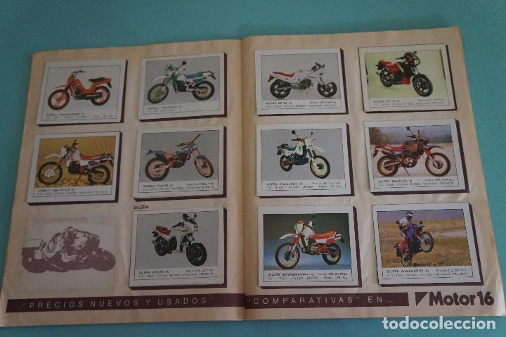 Coleccionismo Álbum: ALBUM DE MOTOS AÑO 1987 DE EDITORIAL UNIDAS,S.A - Foto 6 - 107493083