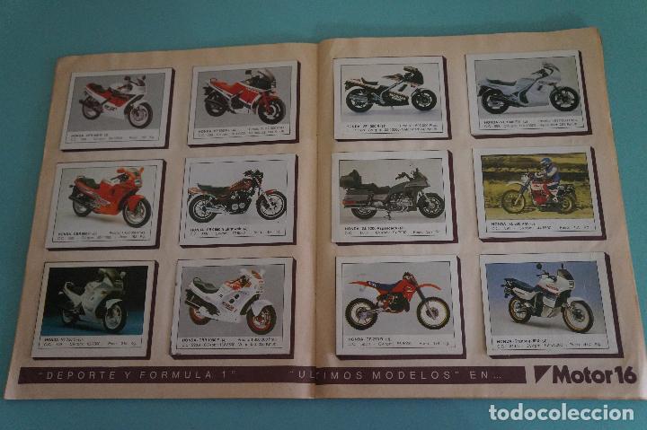 Coleccionismo Álbum: ALBUM DE MOTOS AÑO 1987 DE EDITORIAL UNIDAS,S.A - Foto 7 - 107493083