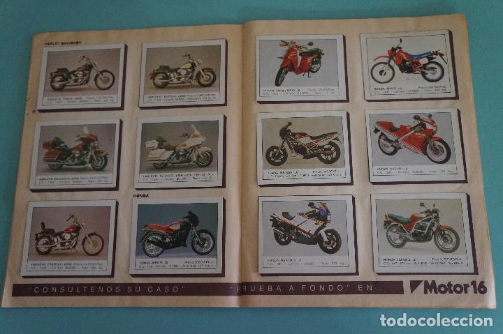 Coleccionismo Álbum: ALBUM DE MOTOS AÑO 1987 DE EDITORIAL UNIDAS,S.A - Foto 8 - 107493083
