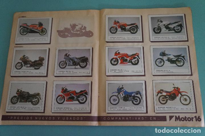 Coleccionismo Álbum: ALBUM DE MOTOS AÑO 1987 DE EDITORIAL UNIDAS,S.A - Foto 9 - 107493083