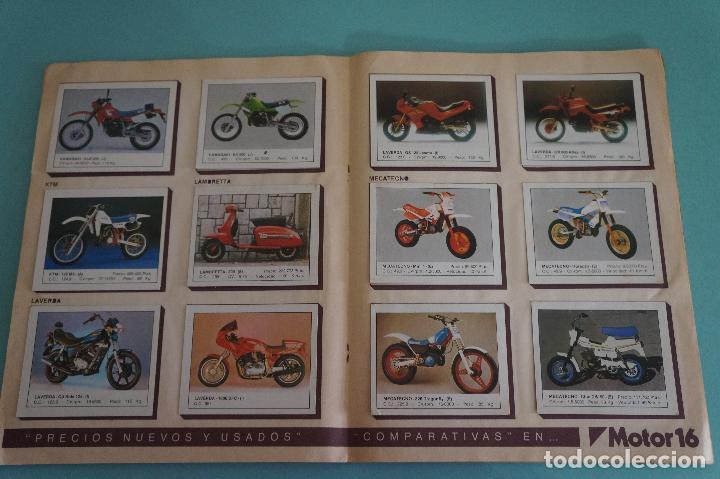 Coleccionismo Álbum: ALBUM DE MOTOS AÑO 1987 DE EDITORIAL UNIDAS,S.A - Foto 10 - 107493083
