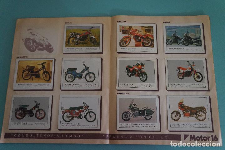 Coleccionismo Álbum: ALBUM DE MOTOS AÑO 1987 DE EDITORIAL UNIDAS,S.A - Foto 11 - 107493083