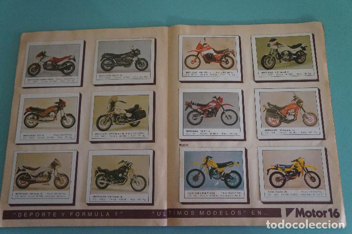 Coleccionismo Álbum: ALBUM DE MOTOS AÑO 1987 DE EDITORIAL UNIDAS,S.A - Foto 12 - 107493083