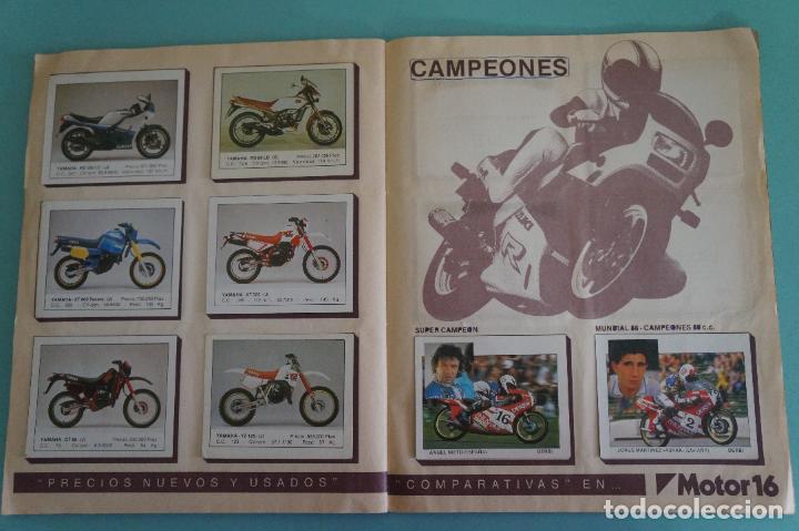 Coleccionismo Álbum: ALBUM DE MOTOS AÑO 1987 DE EDITORIAL UNIDAS,S.A - Foto 16 - 107493083