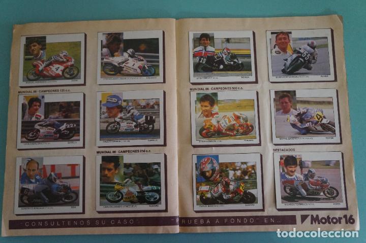 Coleccionismo Álbum: ALBUM DE MOTOS AÑO 1987 DE EDITORIAL UNIDAS,S.A - Foto 17 - 107493083