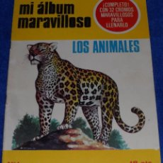 Coleccionismo Álbum: MI ALBUM MARAVILLOSO Nº 1 - LOS ANIMALES ¡COMPLETO!. Lote 107696427