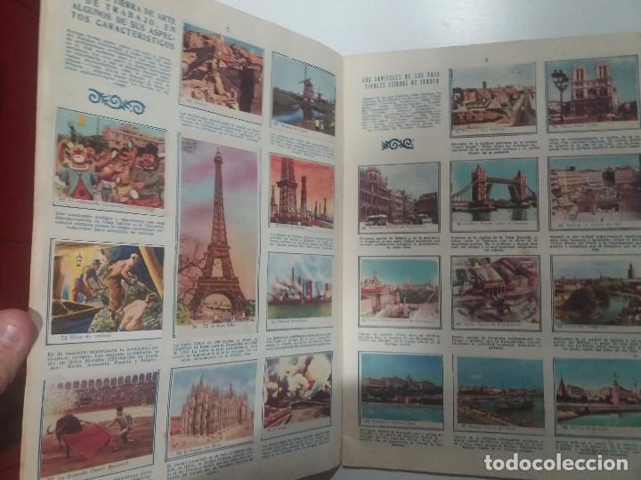 Coleccionismo Álbum: EL MUNDO EN QUE VIVIMOS. COMPLETO - Foto 2 - 107760619