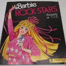Coleccionismo Álbum: ALBUM CROMOS BARBIE ROCK STARS, COMPLETO, PANINI, MATTEL 1986. Lote 107802194