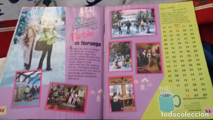 Coleccionismo Álbum: PANINI ALBUM BARBIE HOLIDAY COMPLETO A FALTA DE 14 CROMOS. LEER - Foto 16 - 107824695