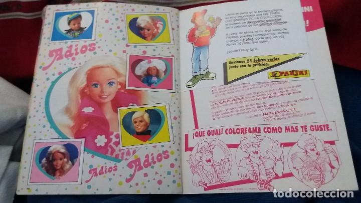 Coleccionismo Álbum: PANINI ALBUM BARBIE 1993 COMPLETO A FALTA DE 5 CROMOS. LEER - Foto 4 - 107826407