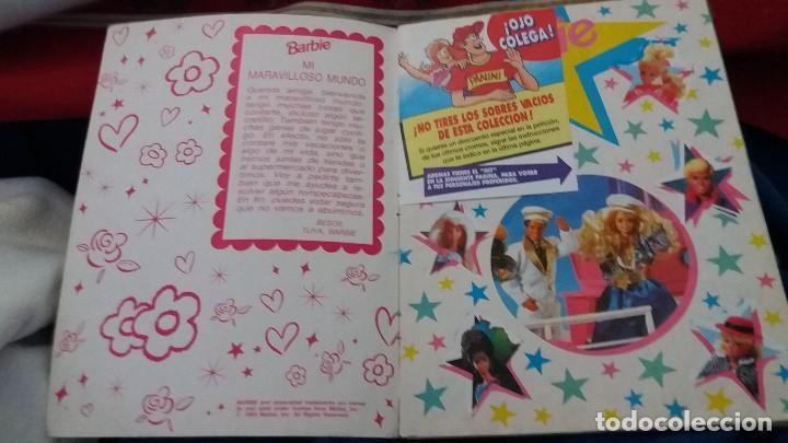 Coleccionismo Álbum: PANINI ALBUM BARBIE 1993 COMPLETO A FALTA DE 5 CROMOS. LEER - Foto 28 - 107826407