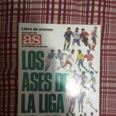 Coleccionismo Álbum: ÁLBUM DE CROMOS LOS ASES DE LA LIGA 1987-1988, 87-88, DE AS. Lote 140747774