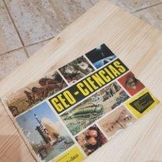 Coleccionismo Álbum: ÁLBUM GEO CIENCIAS. COMPLETO!. Lote 108281343