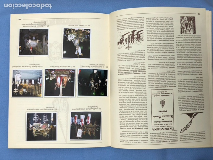Coleccionismo Álbum: Álbum completo cromos Setmana Santa de Tarragona - Foto 10 - 108330355