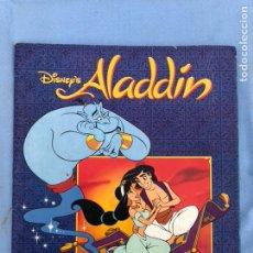 Coleccionismo Álbum: ALBUM CROMOS ALADDIN PANINI COMPLETO. Lote 108399003