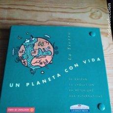 Coleccionismo Álbum: UN PLANETA CON VIDA. COLECCIÓN COMPLETA DE FASCÍCULOS.. Lote 108424755