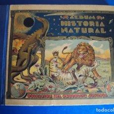 Coleccionismo Álbum: (AL-180000)ÁLBUM COMPLETO HISTORIA NATURAL.596 CROMOS.CHOCOLATE JUNCOSA,BARCELONA,1935.. Lote 108430207
