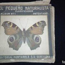 Coleccionismo Álbum: ANTIGUO ALBUM EL PEQUEÑO NATURALISTA. Lote 108462847