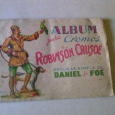 Collezionismo Álbum: ALBUM ROBINSON CRUSOE AGUILAR Y CIA COMPLETO. Lote 108703519