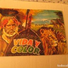 Coleccionismo Álbum: VIDA Y COLOR 3 . Lote 108798523