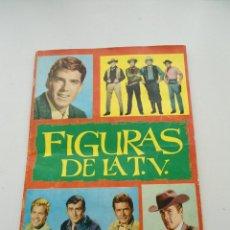 Coleccionismo Álbum: ALBUM DE CROMOS FIGURAS DE LA TV - EDICIONES ESTE - 1965 - COMPLETO - MUY BUEN ESTADO. Lote 108844255