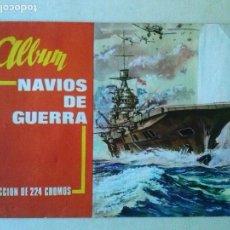 Coleccionismo Álbum: ALBUM NAVIOS DE GUERRA ,A DE A COMPLETO, 224C. BONITO. Lote 108987187