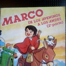Coleccionismo Álbum: ALBUM MARCO DE LOS APENINOS A LOS ANDES (2º PARTE) DANONE 1977 (A-5). Lote 214204563