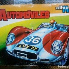 Coleccionismo Álbum: ALBUM AUTOMOVILES MAGA 1972 ( A-5). Lote 109023075
