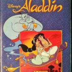 Coleccionismo Álbum: ALBUM ALADDIN DISNEY, COMPLETO. Lote 109316943